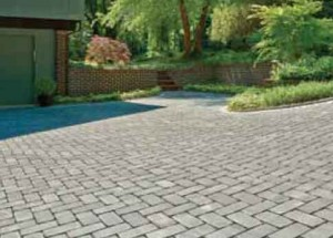 Pervious Stone Driveway and Walkways — Annapolis